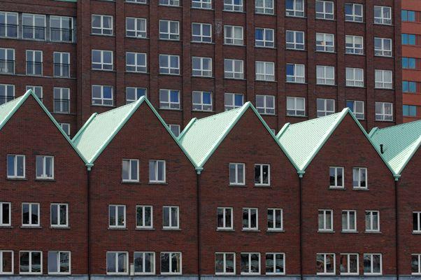 De Compagnie Zuidkade, Rotterdam. Bouwbedrijf: Heijmans N.V.