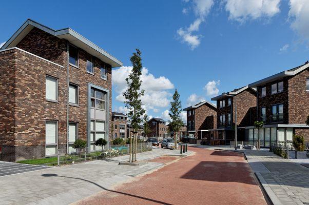 Woonwijk De Lanen, Leidscheveen. Bouwbedrijf: Heijmans N.V.